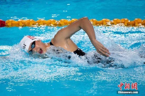 中国全国游泳冠军赛王简嘉禾破亚洲纪录 却无缘决赛_图1-1