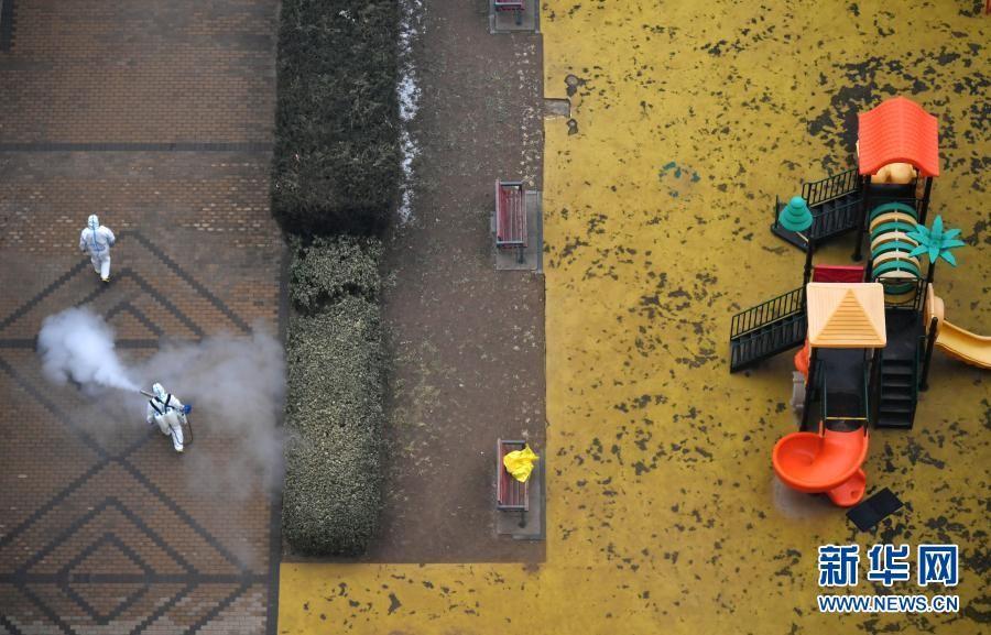 北京市加强高风险地区消杀防疫工作