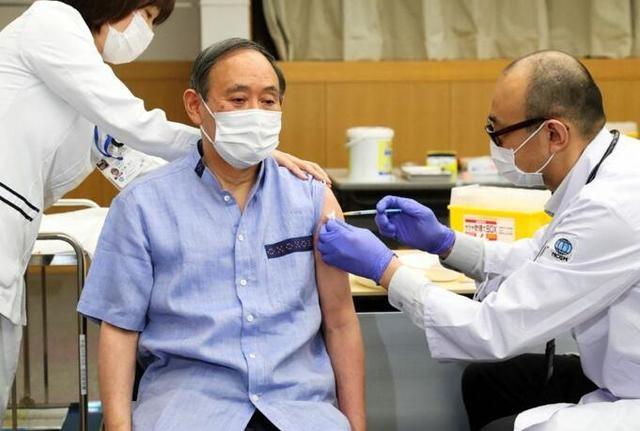 4月拟访美与拜登会晤 日本首相菅义伟接种辉瑞疫苗_图1-1