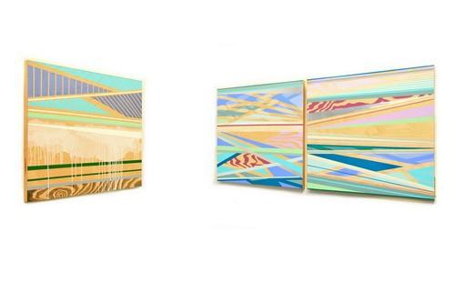 旅日美籍艺术家木下美知得个展 <游·季> 于Crossing Art 艺术中心开幕_图1-3