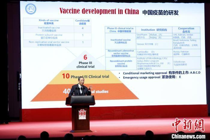 钟南山:接种新冠疫苗是应对经济开放的必然要求_图1-1