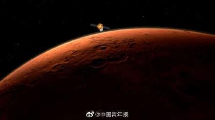 环绕火星近两个月 天问一号为何还不着陆?专家解读_图1-1