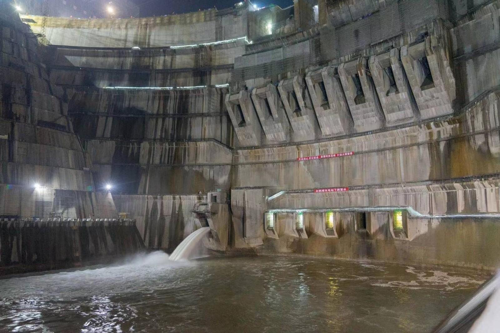 世界在建最大水电工程正式蓄水 预计7月投产发电_图1-4