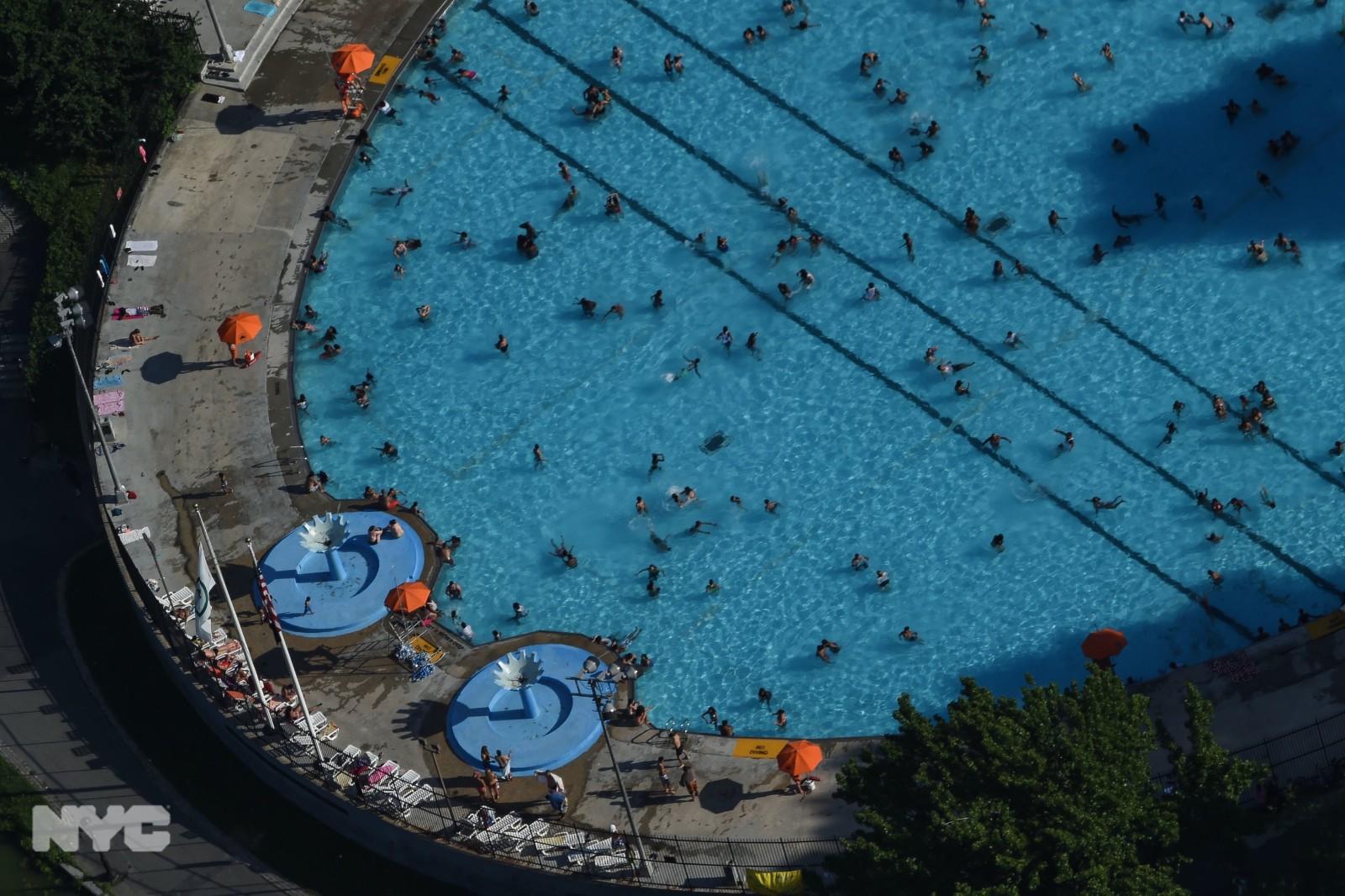 赶上国殇日长周末 纽约市公共海滩及泳池今年将按时开放_图1-4