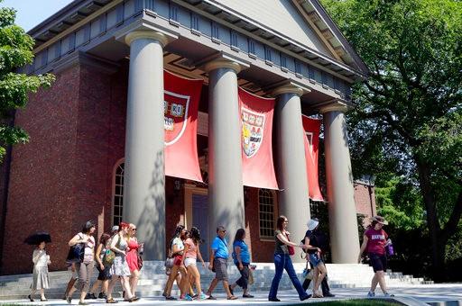 常春藤本科放榜!哈佛录取率降至3.4% 亚裔生占比攀高_图1-1