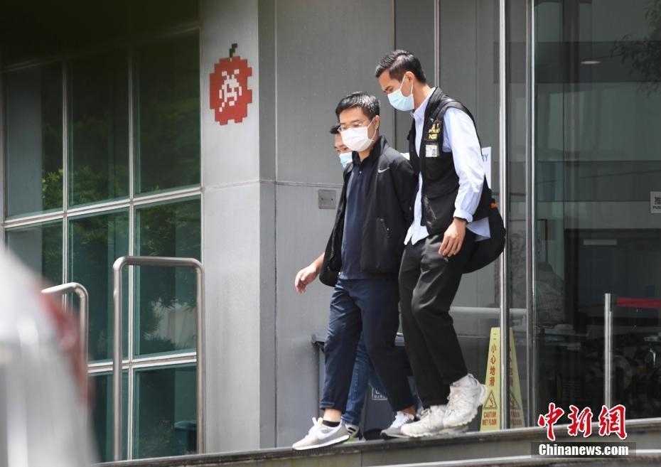 香港警务处国家安全处搜查苹果日报社