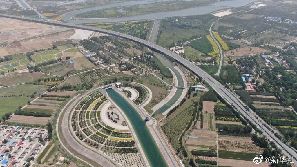 中国南水北调中线累计调水400亿立方米