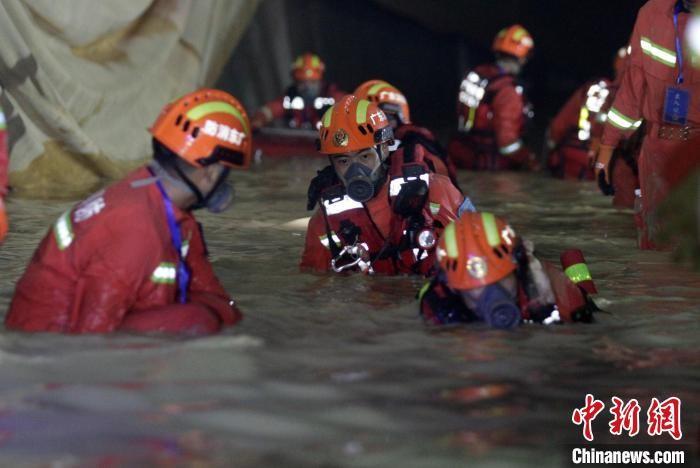 珠海透水事故已完成900多米隧道水域搜救