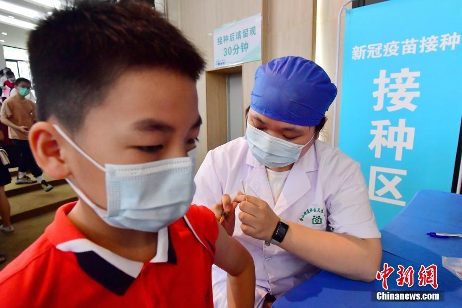 福州为12岁以上青少年儿童接种新冠疫苗