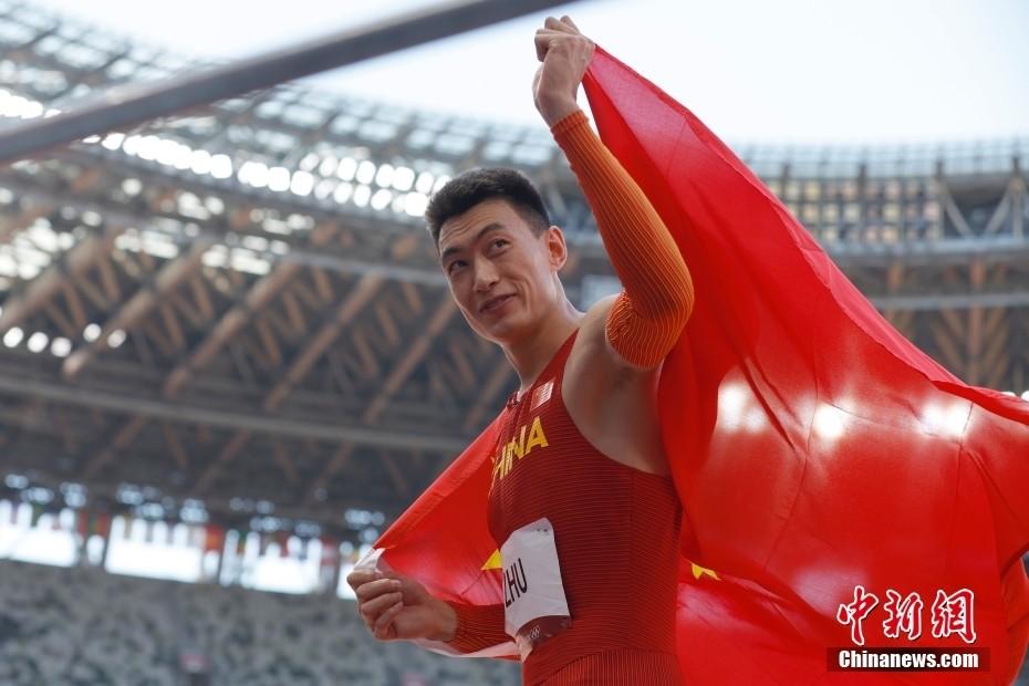 中国历史最好成绩!朱亚明男子三级跳远拿下银牌