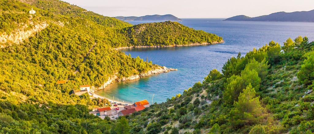 克罗地亚旅途,沿着海岸线