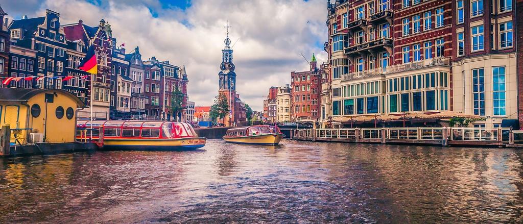 荷兰阿姆斯特丹,城市明信片