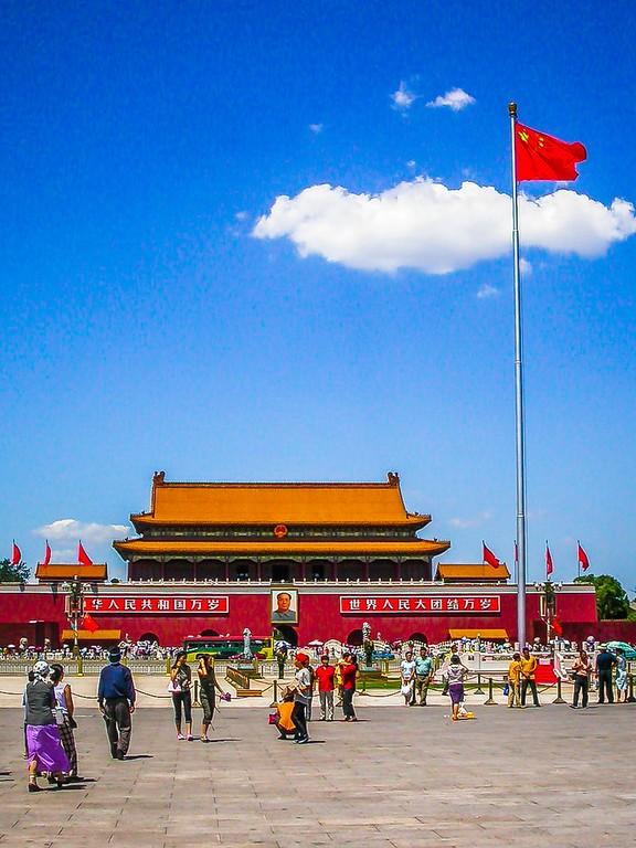 中国北京,古老城市