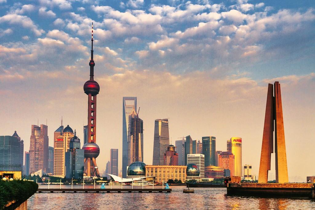 上海外滩,现代都市