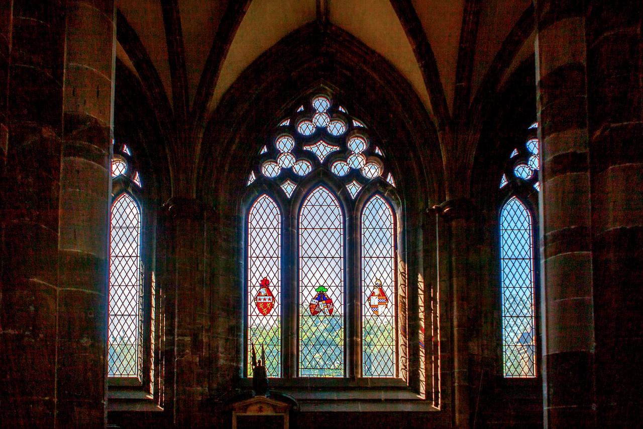苏格兰格拉斯哥大教堂,细细欣