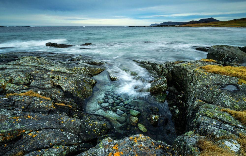 挪威罗弗敦群岛海岸线