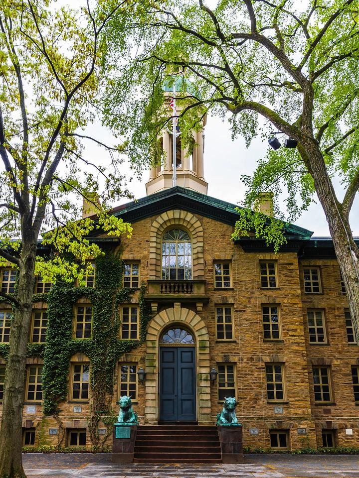 美国普林斯顿大学,建筑大观