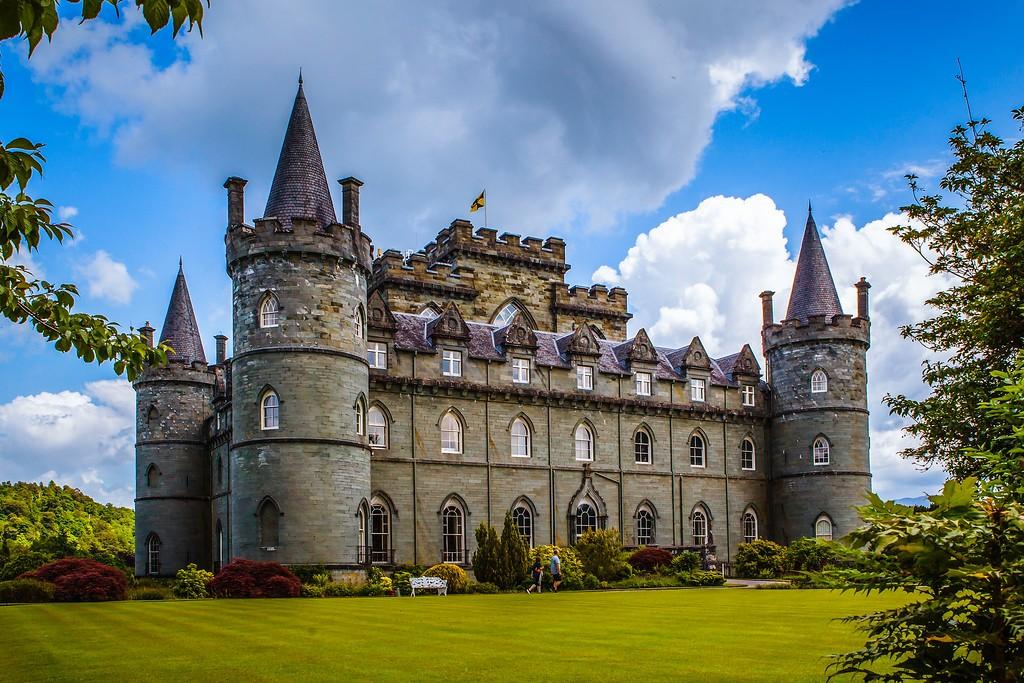 苏格兰Inveraray城堡,童话里