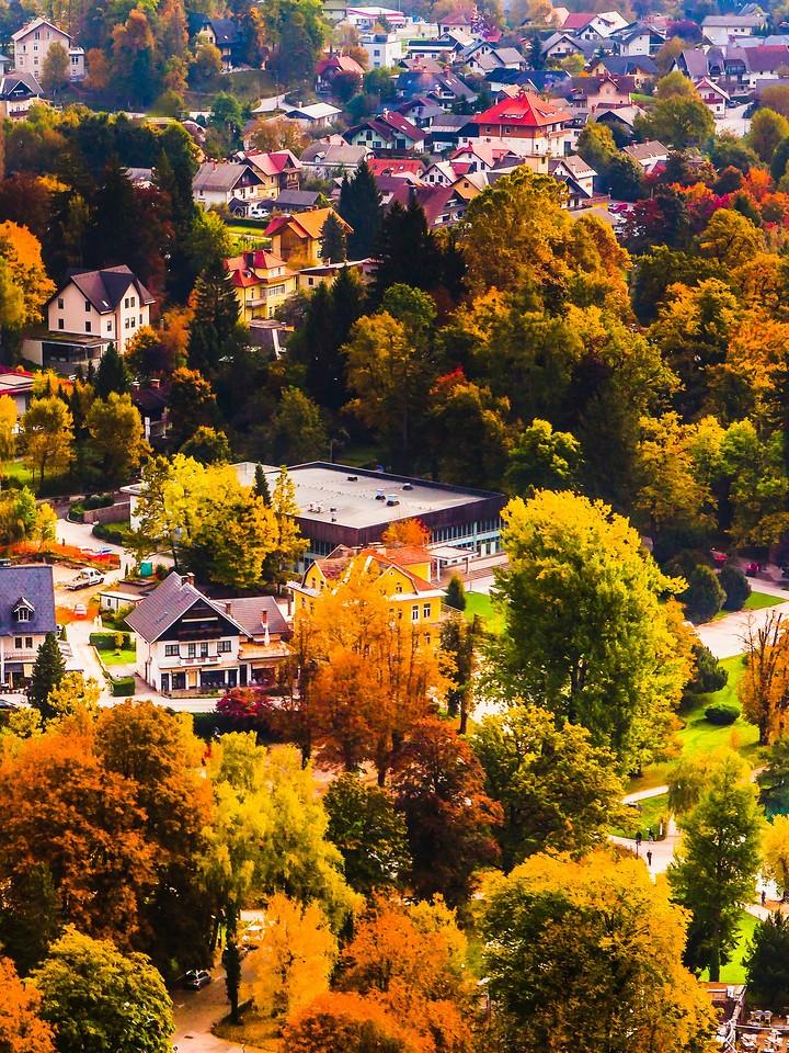 斯洛文尼亚布莱德(Bled),小城