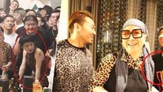 刘欢豪宅办近70人豹纹派对 妻子和27岁女儿罕见亮相