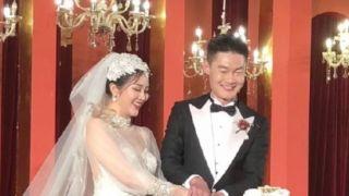 恭喜!中国百米名将张培萌大婚 女方颜值抢戏