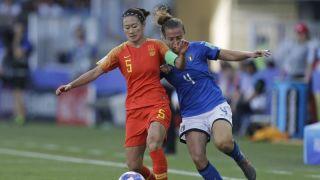中国女足0:2不敌意大利 无缘世界杯八强