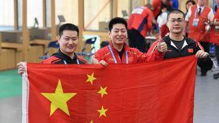 八一射击队斩获武汉军运会中国代表团首金