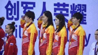 军运会第2日:中国军团再揽14金 刷新多项纪录