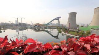 冬奥北京赛区首个新建场馆完工 赛后将成体育主题公园