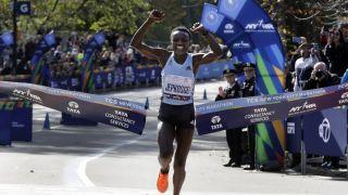 2019纽约马拉松落幕 肯尼亚选手包揽男女双冠(多图)