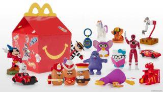 麦当劳限时推出惊喜快乐儿童餐  重温过去40年经典玩具旧梦