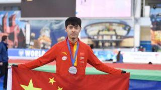 再创历史!中国选手获速滑世界杯男子1000米银牌