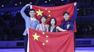 中国选手隋文静、韩聪花滑大奖赛总决赛夺冠