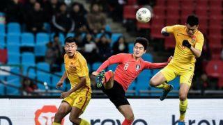 全场被压制!中国国足0比1不敌韩国 东亚杯迎来两连败