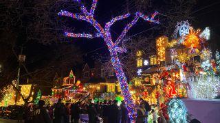 美东圣诞季不可错过的布鲁克林戴克高地圣诞彩灯展