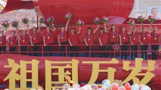 新华社评2019中国十佳运动员 中国女排领衔