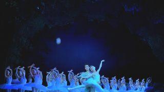 """48只 """"白天鹅""""展翼纽约林肯中心 上芭《天鹅湖》的台前幕后"""
