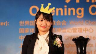 中国棋手居文君第三度加冕国象世界棋后