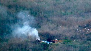 NTSB:坠毁前 科比所乘直升机正在试图爬升