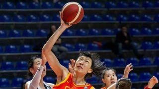 中国女篮100:60大胜韩国 三连胜收获奥运门票