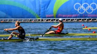 中国国家赛艇队德州集训 备战东京奥运