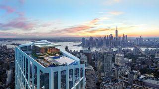 坐拥西半球最高天际泳池 享有25年减税的纽约全新豪华公寓90万美金起售