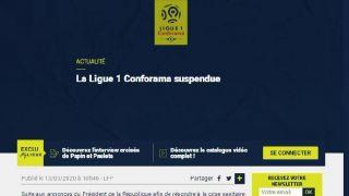 欧冠联赛、欧联杯比赛推迟 英超停摆 法甲、法乙联赛暂停