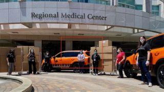 齐心抗疫 KIA起亚汽车美国公司向南加州医院捐赠医用面罩