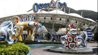 """香港海洋公园下月将倒闭 港府欲拨款""""救亡"""""""