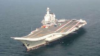 首艘国产航母山东舰出海执行任务 中国国防部回应