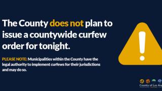 加州主要城市宣布周四取消宵禁