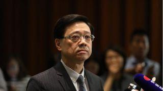 """香港保安局局长:警队将成立新部门执行""""港区国安法"""""""