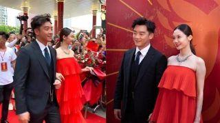 郑恺苗苗婚后首次幸福合体 网友:阵仗大得像办婚礼
