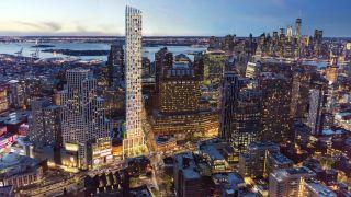 纽约布鲁克林最高建筑 高端住宅Brooklyn Point正式开始交付